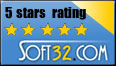Soft32.com - 5 Star Rating
